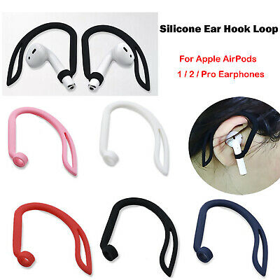 $ CDN3.60 • Buy Silicone Sports Anti-Lost Ear Hook For Apple AirPods 1 2 Pro Bluetooth Earphone