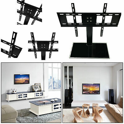 Swivel Universal Base Table Top TV Stand W/ Mount For 37-55  LED LCD Flat Screen • 20.45$