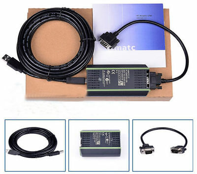 $34.99 • Buy PLC Cable For Siemens S7 200/300/400 Adapter 6ES7 972-0CB20-0XA0 USB-MPI+PC US