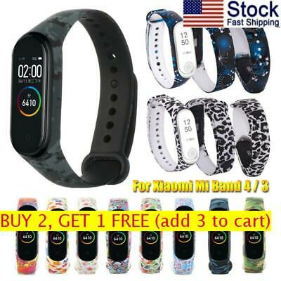 Sports Colorful Silicone Bracelet Strap For Xiaomi Mi Band 4 3 Watch Band • 6.67$