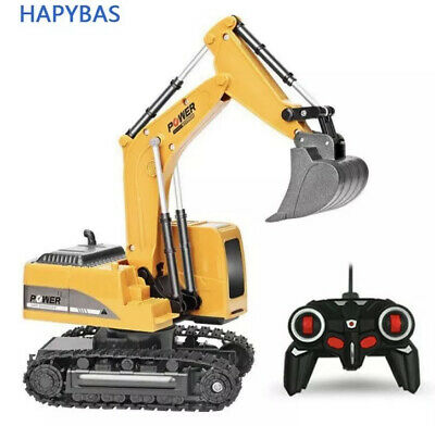 Radio Controlled Toy Digger Truck 1:24 Great Christmas Gift Rc Car Forklift Jcb • 29.95£