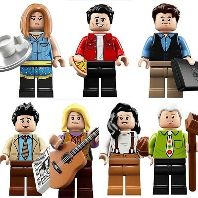 LEGO Ideas 21319 FRIENDS Central Perk Minifig Lot ALL 7 Minifigs • 49.99$