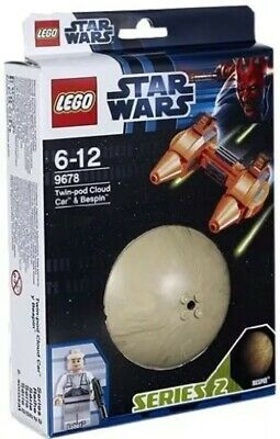 LEGO Star Wars Planets 9678: Twin-Pod Cloud Car And Bespin -Brand New • 9.99£