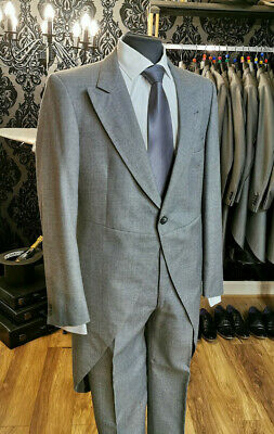 £28.79 • Buy Mens Grey Two Piece Wool Wedding Formal Tailcoat/ Formal / Event / Ascot / Tails