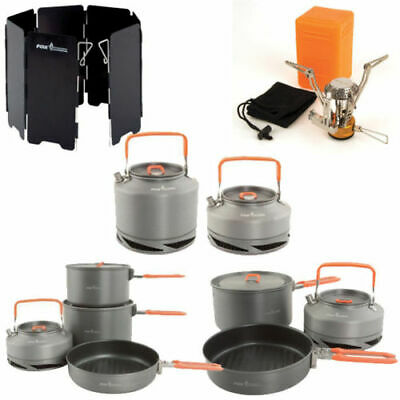 New Fox All Cooking Equipment - Complete Range - Pans Stove Kettle Windshield  • 29.95£