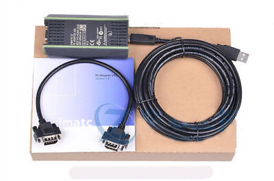 $35.99 • Buy 5M PLC Cable Adapter For Siemens S7-200/300/400 RS485 Profibus / MPI / PPI