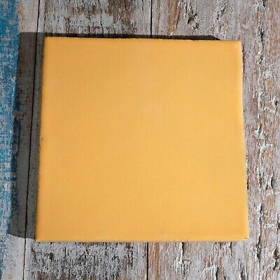 £8.50 • Buy Mexican Ceramic Tile Yellow Mostaza
