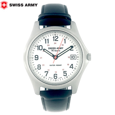 Unisex ORIGINAL SWISS ARMY WATCH S.A.W. CO REF 1760 Quartz 36 MM W/R 50 M • 92.78£