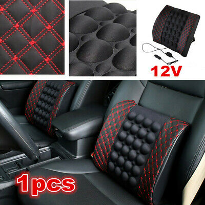 $ CDN30.64 • Buy  1x Car Accessories Lumbar Seat Chair Pillow Back Support Vibration Massage Pads
