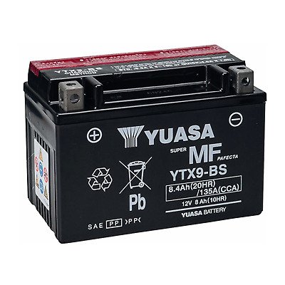 AU68.62 • Buy Battery Sealed Yuasa YTX9-BS Honda NX Dominator 650 1988 1989 1990 1991 2002