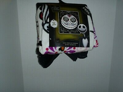 The Nightmare Before Christmas Jack Silk Touch Throw Blanket 50 X 60 • 22.19£