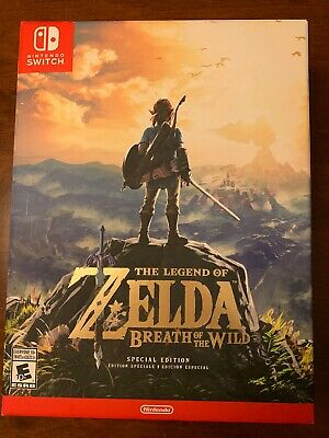 Legend Of Zelda: Breath Of The Wild - Special Edition (Nintendo Switch, 2017) • 124$