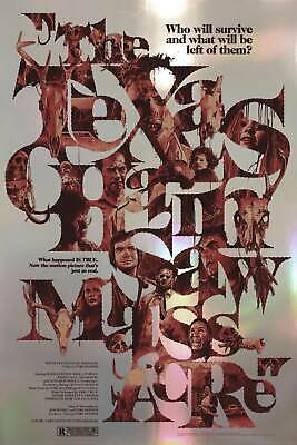 £127.40 • Buy Texas Chainsaw Massacre By Gabz Foil Variant Limited Poster Print NT Mondo