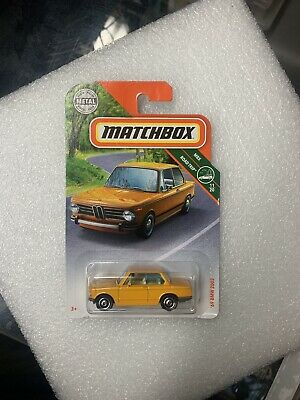 $6.99 • Buy Matchbox Road Trip Diecast 1969 BMW 2002 Orange 1:64 Scale