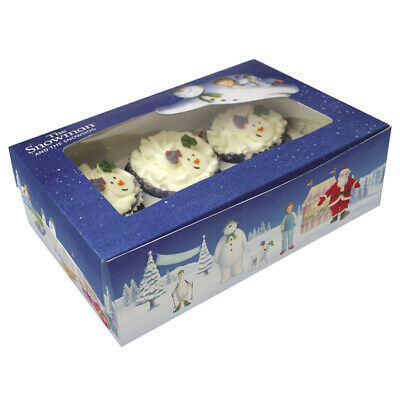 Raymond Briggs The Snowman And The Snowdog Cupcake Boxes X 2 • 4.99£