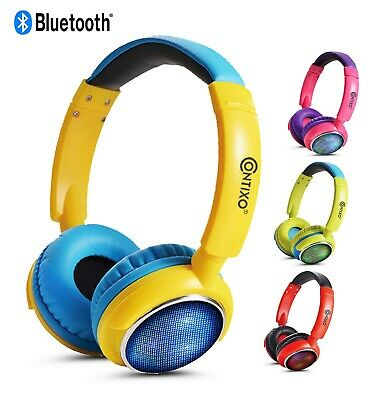 $17.99 • Buy Contixo KB-300 Best 2020 85DB High Rated Wireless Over Ear Bluetooth Headphones
