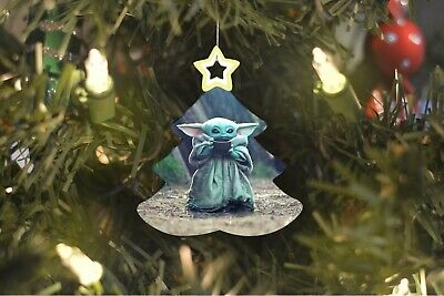 $7.99 • Buy Baby Yoda Star Wars Christmas Tree Ornament