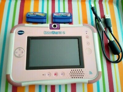 £25 • Buy Vtech Innotab 3S Pink With Purple VTech Rubber Case