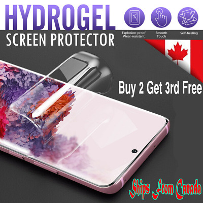 $ CDN4.99 • Buy For Samsung Galaxy S10 S20 S9 S8 + Plus S10e Note 9 10 Coverage Screen Protector