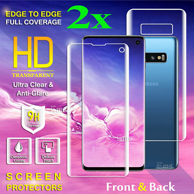 $ CDN5.99 • Buy For Samsung Galaxy Note 10 Plus + Note 9 8 Curve FULL Coverage Screen Protector
