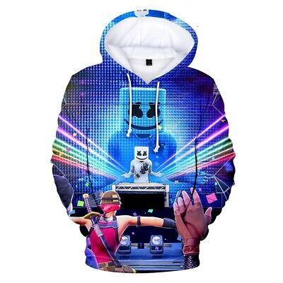 $ CDN12.42 • Buy HOT 2020 Fortnight Gamer 3D DJ Battle Royale Men Women Warm Hoodies Sweatshirts