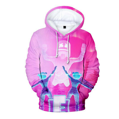 $ CDN12.42 • Buy TOP 2020 Fortnight Gamer 3D DJ Battle Royale Men Women Warm Hoodies Sweatshirts