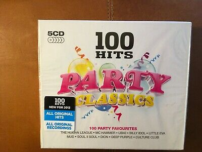 100 Hits - Party Classics.      Five Compact Discs Boxset     Demon Music  • 15£