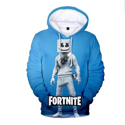 $ CDN12.42 • Buy HOT Gamer 3D DJ 2020 Fortnight Battle Royale Men Women Warm Hoodies Sweatshirts