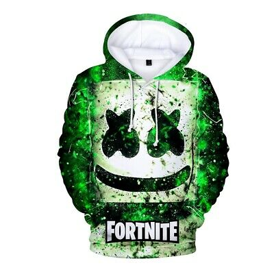 $ CDN34.89 • Buy TOP Gamer 3D DJ 2020 Fortnight Battle Royale Men Women Warm Hoodies Sweatshirts