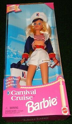 Barbie Doll #15186 Carnival Cruise  Mattel 1997 New In Box Special Edition • 29.99$