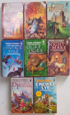 Xanth Vol 1-8 By Piers Anthony (8 Paperbacks) • 32$
