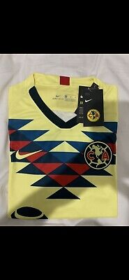 Club America 2019-2020 Home Jersey Soccer Liga MX Size Large And XL • 45$