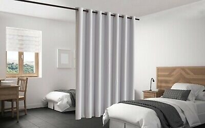 $48 • Buy Blackout Room Divider Curtain Panel Privacy Screen Thermal Insulated Stone Color