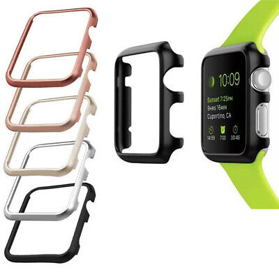 AU7.99 • Buy Aluminum Slim Protective Case For Apple Watch Series 1 2 3 4 5 6 38 40 42 44 Mm