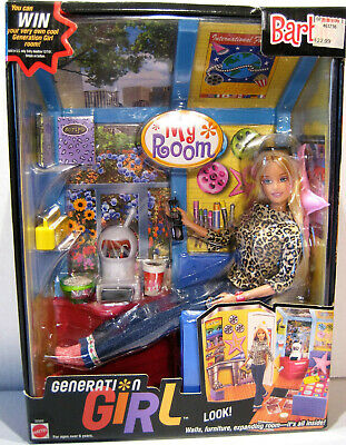 Generation Girl Barbie Doll My Room Mattel 28986 New Condition NRFB • 19$