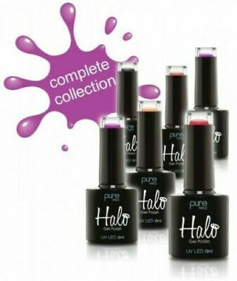 £6.49 • Buy Halo Gel Polish By Pure Nails- UV LED 8ML Polish- Full Collection Available 8ml