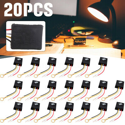 20x 3 Way AC 110V Desk Light Parts Touch Control Sensor Switch Dimmer Lamp USA • 18.99$