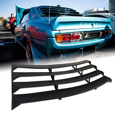 AU411.64 • Buy Fit Toyota Celica 1970-77,TA23 TA22 MK1 Rear Window Louvre Sunshade Black Frame