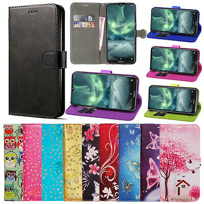 For Nokia 7.2 2.1 3.1 4.2 7.1 6.1 1 2 3 PU Leather Wallet Flip Stand Case Cover • 3.25£