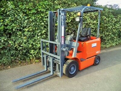 £4650 • Buy Heli Electric Counterbalance Forklift Truck-1.5 Ton