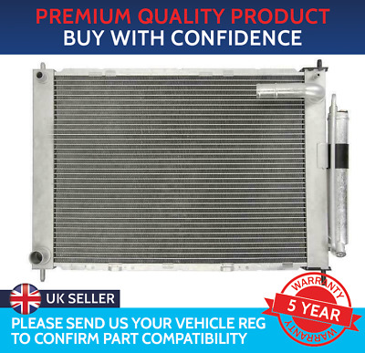 Radiator And Air Con Condenser Multi Exchanger To Fit Nissan Micra K12 Note E11 • 125.50£