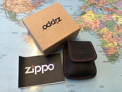 ZIPPO Leather Lighter Pouch • 11$