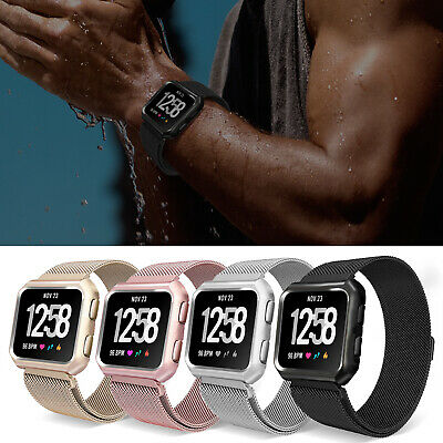 $ CDN19.69 • Buy For Fitbit Versa/Special Edition Band Magnetic Wristband Strap+ Frame Accessory