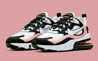 NIKE AIR MAX 270 REACT $150 Women's Running Shoes AUTHENTIC NEW AT6174 005 Black • 109.88$