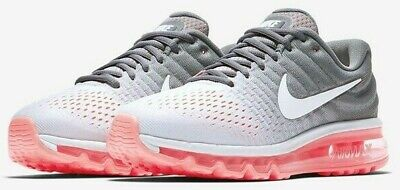 $106.88 • Buy NIKE AIR MAX 2017 $190 Women's Running Shoes AUTHENTIC NEW 849560 007 Grey Pink