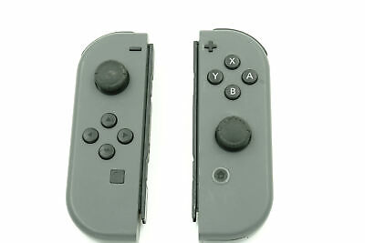 Nintendo Switch Joy-Con Left And Right Gray/Gray Controllers • 27$