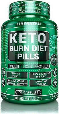 Keto Burn Diet Pills - Advanced Extreme Max Weight Loss Keto Supplements For - • 19.99$