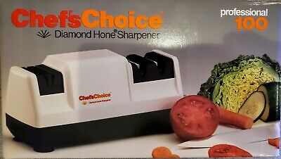 Chef's Choice Diamond Hone Knife Sharpener Professional 100 Heavy-Duty Model • 24.90$