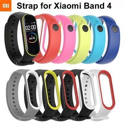 For Xiaomi Mi Band4 3 Silicone Wrist Strap Bracelet Replacement Watch Band Gift! • 5.29$