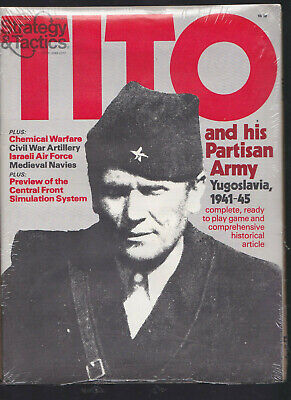 Strategy & Tactics No.81 Tito And His Partisan Army 1941-1945 Unpunched Copy • 10$